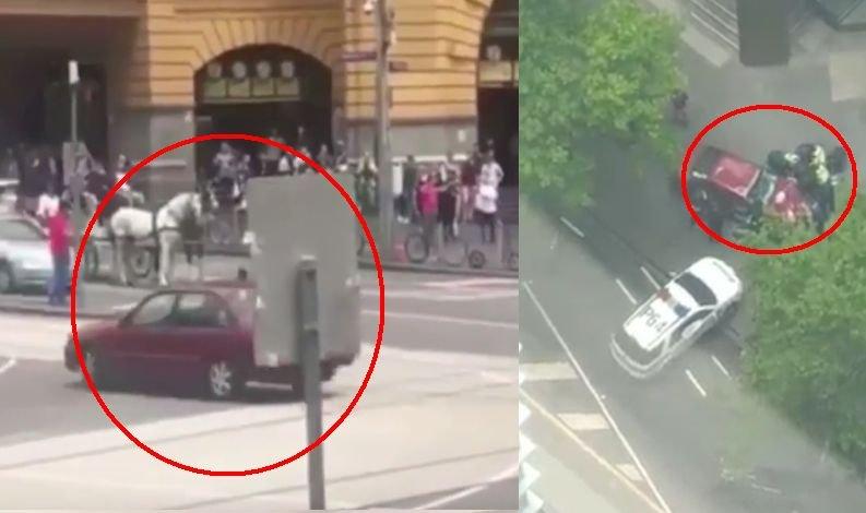 Imagini șocante! Un șofer a intrat cu mașina în mulțime, la Melbourne. Trei oameni au murit, iar alți 20 au fost răniți