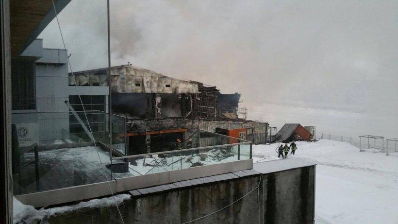 Incendiu Bamboo: Care este starea victimelor. Şase persoane se află internate la Spitalul Floreasca