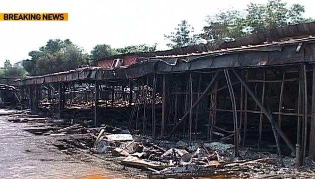 Incendiu cu repetiție la Clubul Bamboo. Locația exclusivistă s-a făcut scrum și în 2005