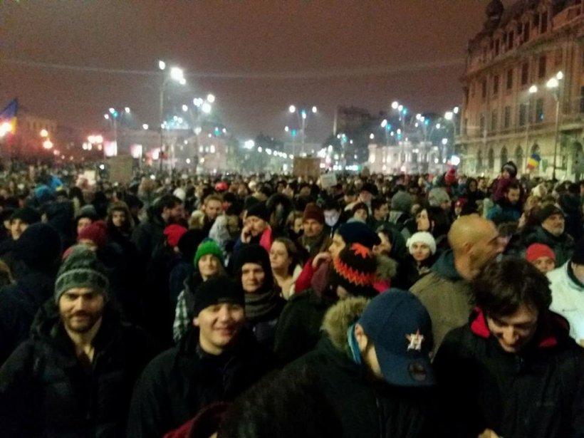 Prima reacție din PSD, după protestele din stradă și prezența președintelui în Piață