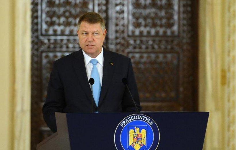 """Klaus Iohannis: """"Voi începe demersurile pentru un referendum privind legislația în materie penală"""""""