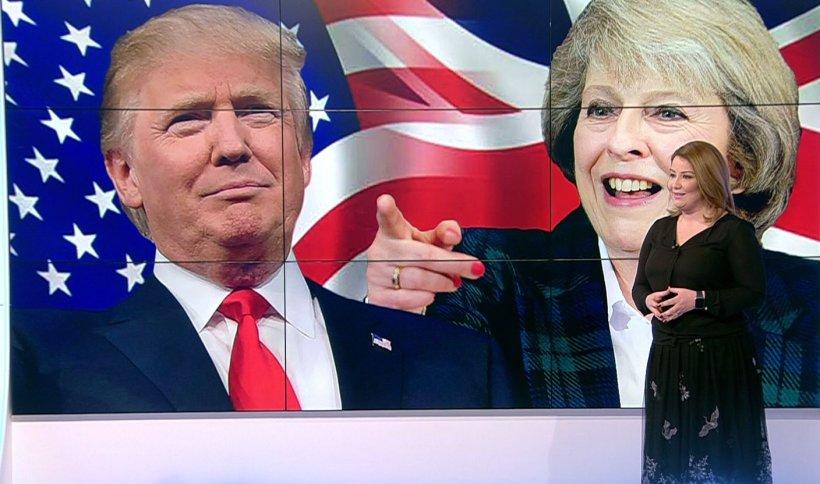 Theresa May, primul lider străin ce va fi primit la Casa Albă