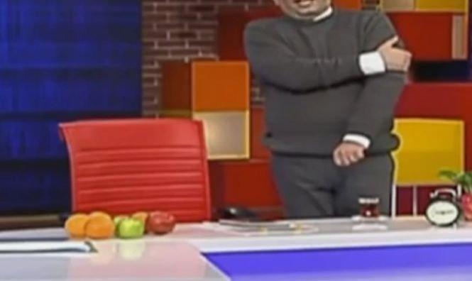 Un prezentator TV a făcut infarct în direct - VIDEO
