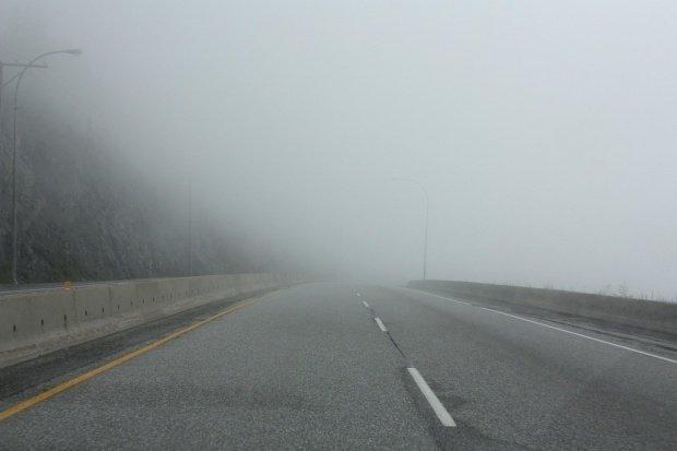 Ceaţă pe Autostrada A2, vizibilitatea este sub 50 de metri în anumite zone