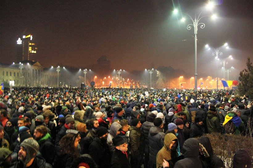 Massive Protests in Romania as Govt Changes Criminal Law 114