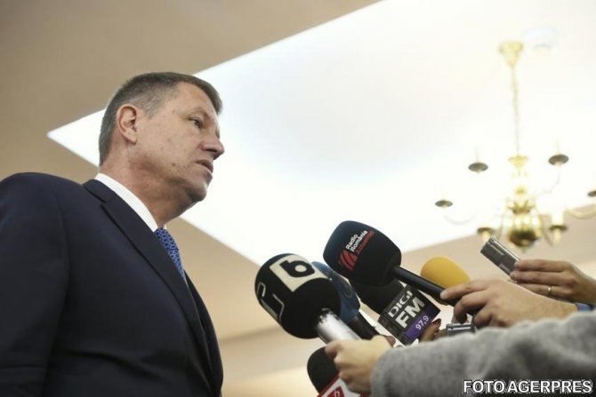 President Iohannis: Justice independence - seriously breached; we must take attitude; first step - CCR notification 114