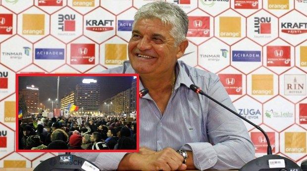 Andone le interzice dinamoviștilor să meargă la proteste: ''Eu fac doar politica sportului''