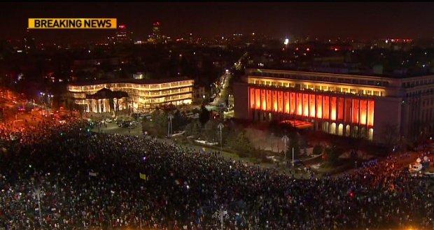 Protestele de sâmbătă și anunțul abrogării ordonanței din Justiție, în presa străină