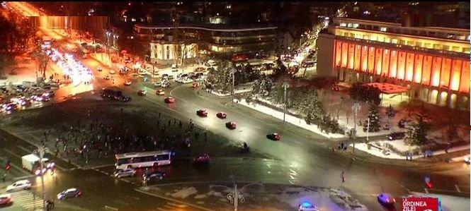 A 11-a zi de proteste, în Piața Victoriei și în țară - VIDEO 418