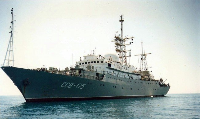 O navă de spionaj a Rusiei, depistată în apropierea coastei Statelor Unite