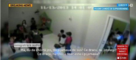 """O nouă grădiniță a """"groazei"""". Copiii sunt amenințați și jigniți de îngrijitoare - VIDEO"""