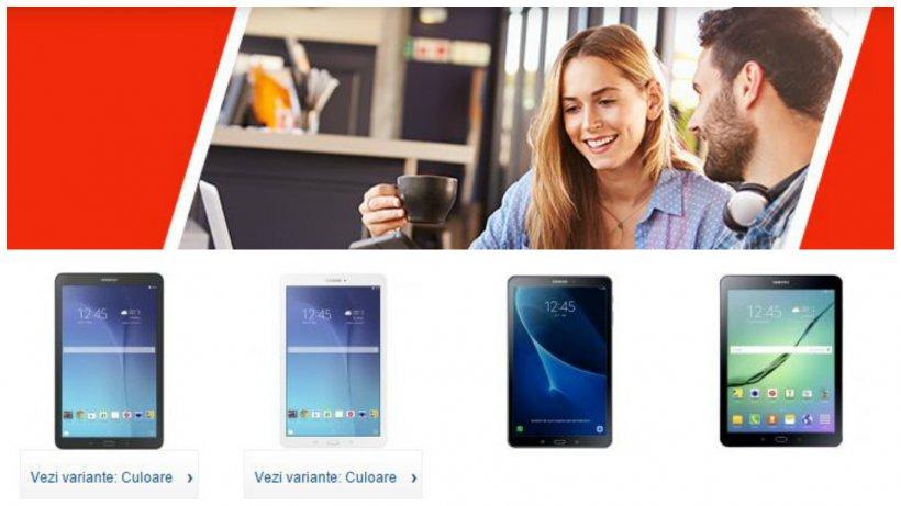 Reduceri eMAG la tablete Samsung. 3 produse bune sub 700 de lei