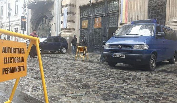 Sediul Autorității Electorale Permanente a fost spart. Au dispărut documente privind finanţarea controversată a USB