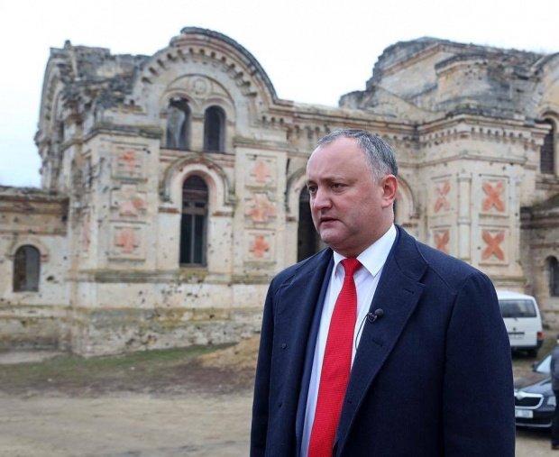 Preşedintele Igor Dodon, încă un gest controversat la adresa României