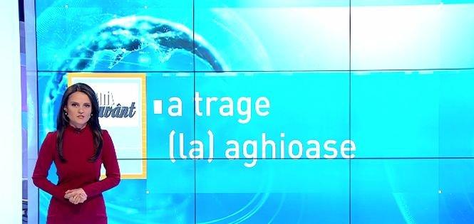 """Pe cuvânt, cu Ana Iorga. Ce înseamnă expresia """"a trage la aghioase"""""""