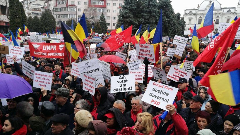 Miting de amploare pentru susținerea guvernului Grindeanu. Peste 10.000 de oameni, așteptați să participe la eveniment