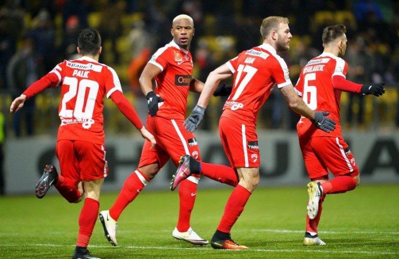 Dezastru pentru Steaua, în semifinala Cupei Ligii. Dinamo s-a distrat din nou cu rivala de moarte