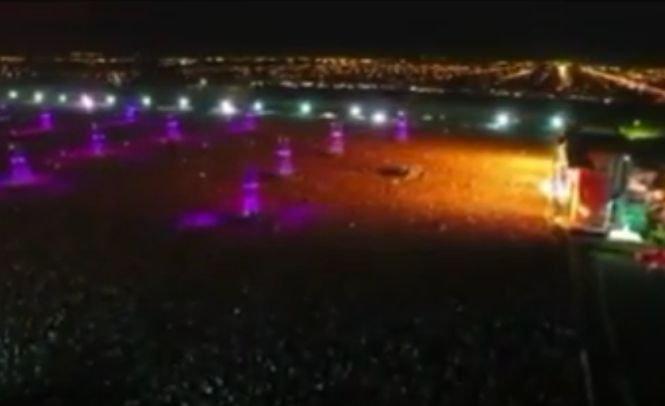 300.000 de oameni s-au călcat în picioare la un concert rock, în Argentina. Doi au murit şi mai mulți au fost răniți. VIDEO