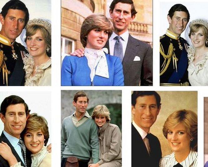 Detaliul bizar din fotografiile cu Prințesa Diana şi Prinţul Charles. Abia acum a fost observat