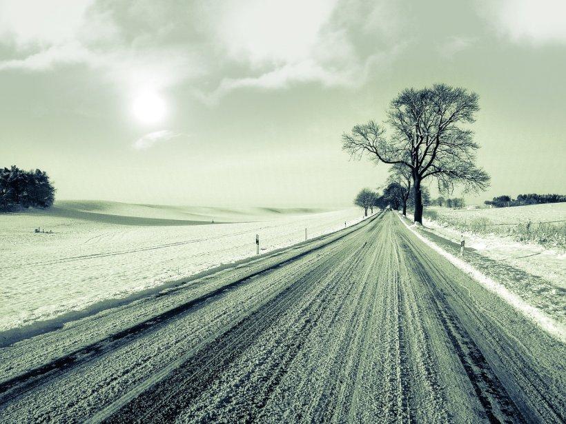 Locul din România unde stratul de zăpadă este consistent. Se circulă în condiții de iarnă