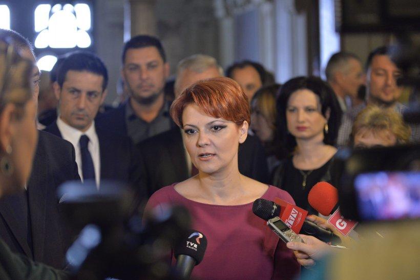 Ministrul Muncii Lia Olguța Vasilescu, despre legea unitară a salarizării. De când vor crește salariile