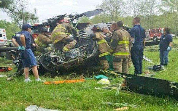 Un elicopter militar s-a prăbușit. O persoană a decedat, iar alte două sunt grav rănite