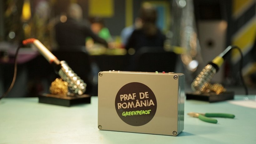 Greenpeace România lansează Praf de România, o campanie pentru îmbunătățirea calității aerului