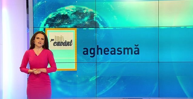 """Pe cuvânt, cu Ana Iorga: De unde vin cuvintele """"a tămădui"""" și """"agheasmă"""""""
