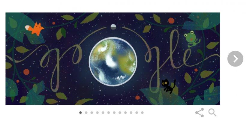 ZIUA PĂMÂNTULUI 2017. Google celebrează ZIUA PĂMÂNTULUI 2017 cu un logo special