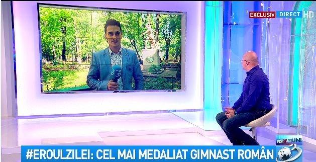 Eroul zilei: Cel mai medaliat gimnast român