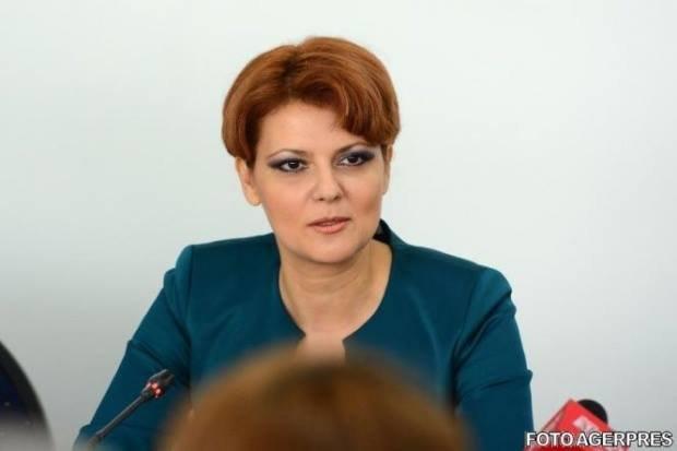 Ministrul Muncii Lia Olguța Vasilescu, despre ce se va întâmpla cu venitul net al angajatului din 2018