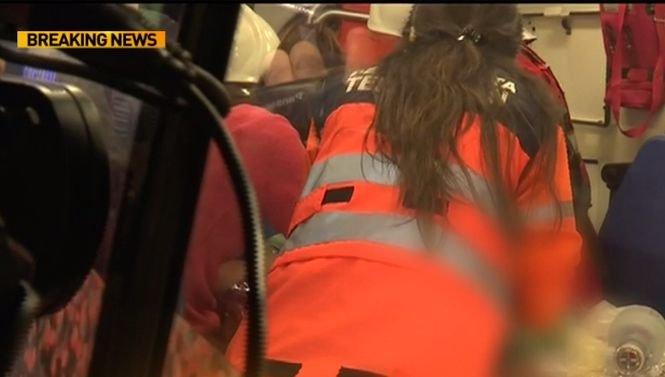Momentul în care copilul căzut în puț este salvat - VIDEO emoționant