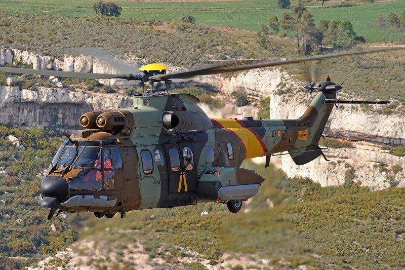 Primul elicopter militar Airbus H215M ar putea fi produs în România în 2019