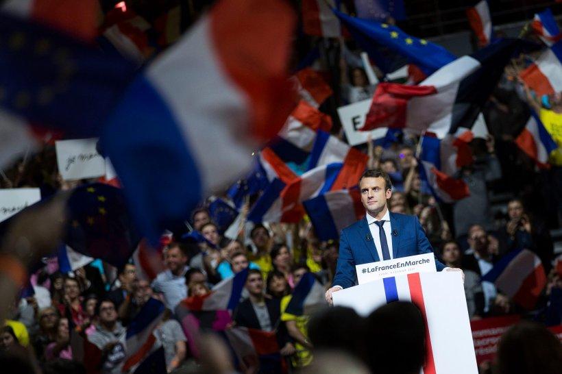 Emmanuel Macron, prima declarație după ce a fost ales președinte al Franței