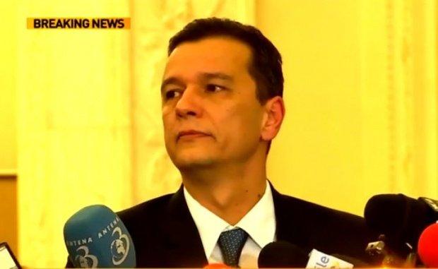 Reacția premierului Sorin Grindeanu după ce Emmanuel Macron a câștigat alegerile prezidenţiale din Franţa