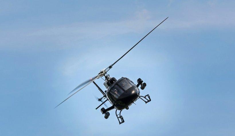 Elicopter prăbușit în mare, în Norvegia. Trei răniți, dintre care unul grav