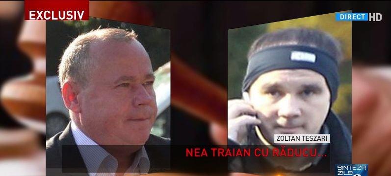 """Noi înregistrări din dosarul RCS&RDS - Antena 3: """"`nea Traian și Răducu"""", acasă la Zoltan Teszari"""