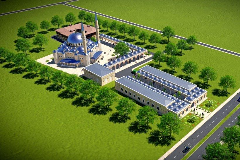 Autoritatea religioasă din Turcia a dezvăluit proiectul Marii Moschei ce se va construi în București