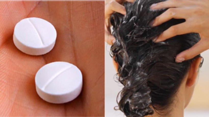 Și-a frecat părul cu aspirină pisată! Ce s-a întâmplat după ce l-a clătit - VIDEO
