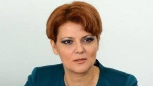 Olguța Vasilescu: Mi-am tăiat singură salariul