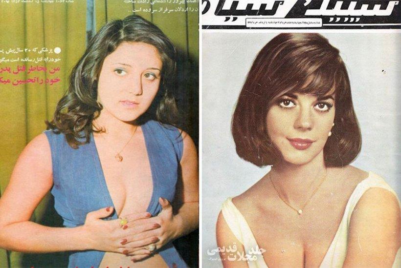 Fotografii-șoc descoperite în revistele din Iran. Nimeni nu se aștepta să le vadă așa - GALERIE FOTO