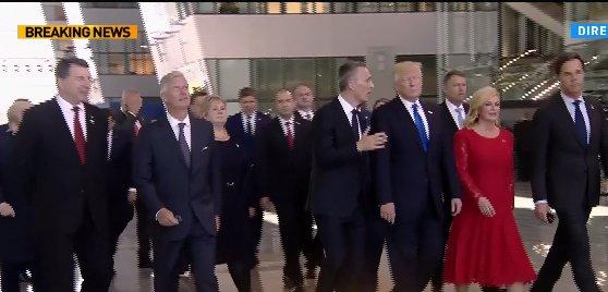 La ordinea zilei. Iohannis, scurte discuții cu Trump, Merkel și Trudeau