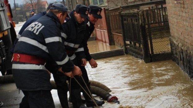 Cod galben de inundații emis de meteorologi