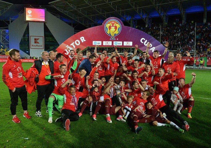Lovitură pentru FC Voluntari, după câștigarea Cupei României. Cine merge de fapt în Europa League
