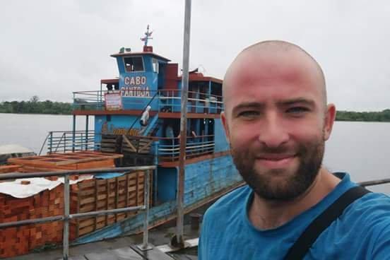Românul care traversează Americile cu bicicleta, detalii fabuloase din timpul călătoriei pe Amazon
