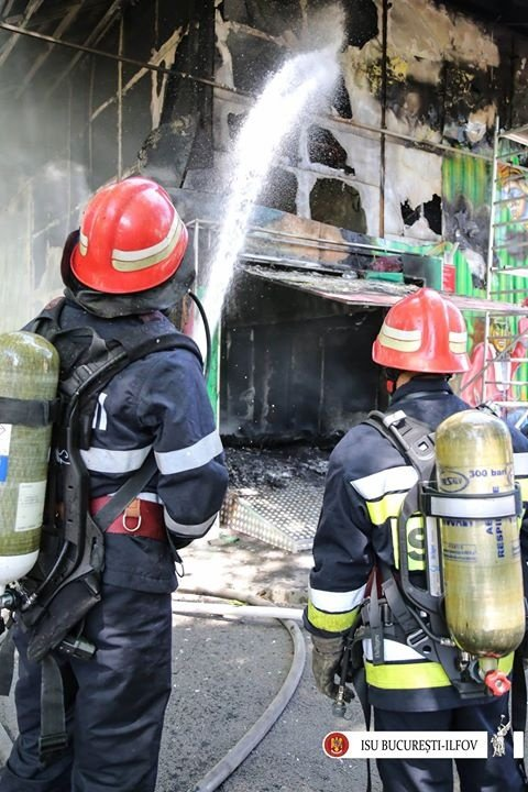 Ministerul Dezvoltării: Arhiva ministerului nu a fost afectată de incendiul de la depozitul din Ilfov