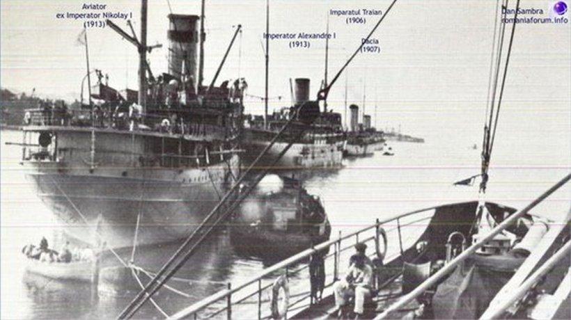 Odiseea vapoarelor românești închiriate Rusiei în Primul Război Mondial