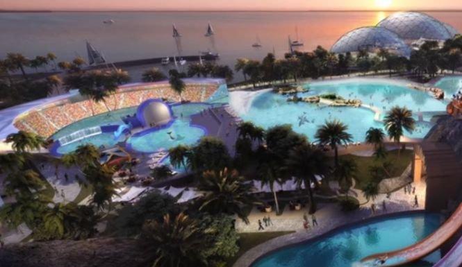 """Dubai construieşte un nou """"oraş"""" pe mare - VIDEO spectaculos"""