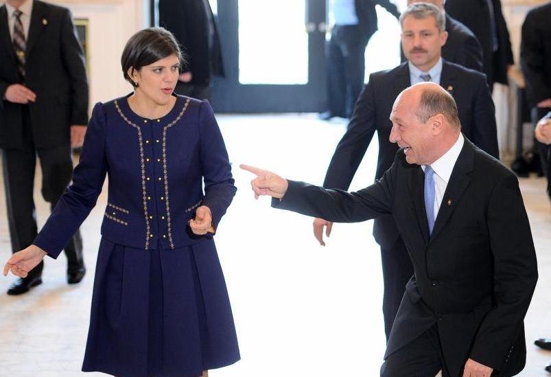 """Traian Băsescu, acuzații grave le adresa Laurei Codruța Kovesi: """"A stat bot în bot cu politicieni din partide importante"""""""