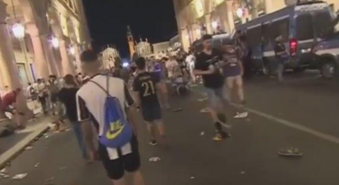 1.000 de răniţi, la Torino, în timpul finalei Ligii Campionilor. A fost haos din cauza unor focuri de artificii - VIDEO